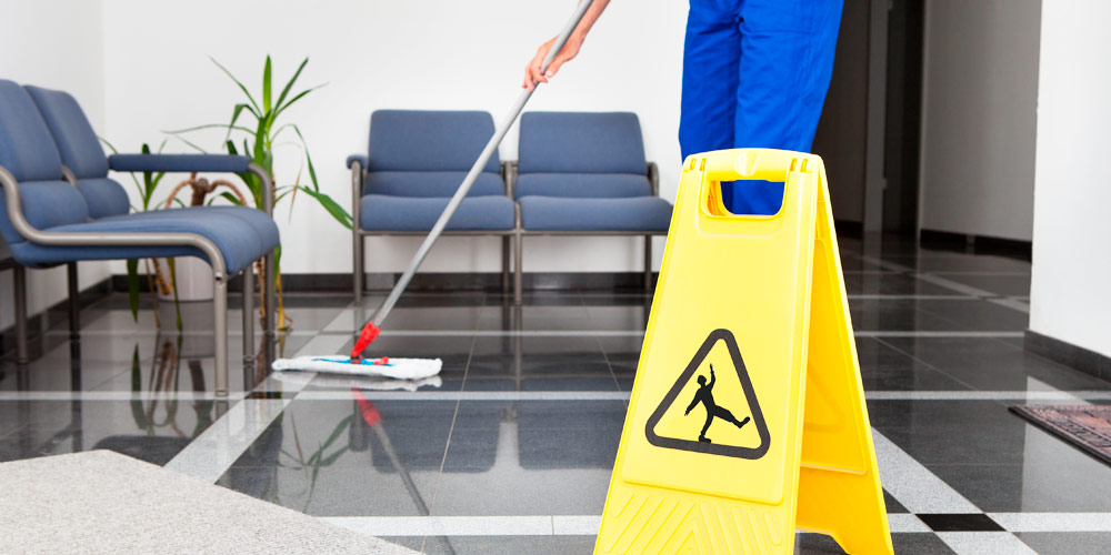 Limpezas de manutenção em clínicas